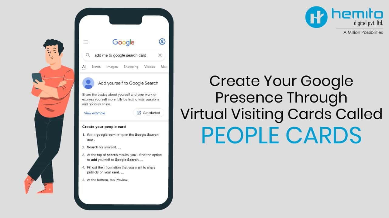 Create Your Google Presence Through People Cards