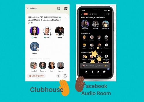 Clubhouse vs Facebook Audio Room