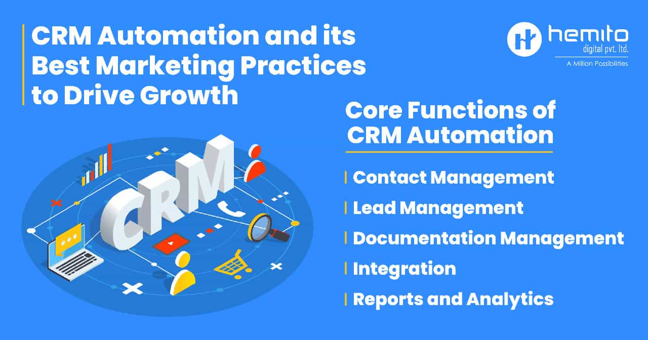 CRM Automation and its Best Marketing Practices to Drive Growth