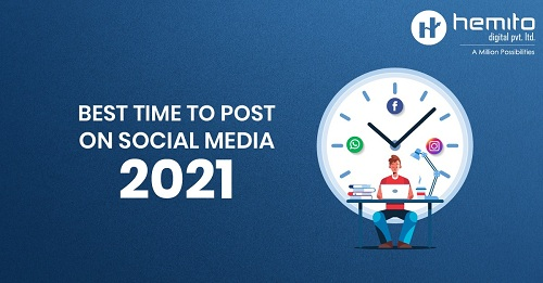 Best Time to Post on Social Media 2021